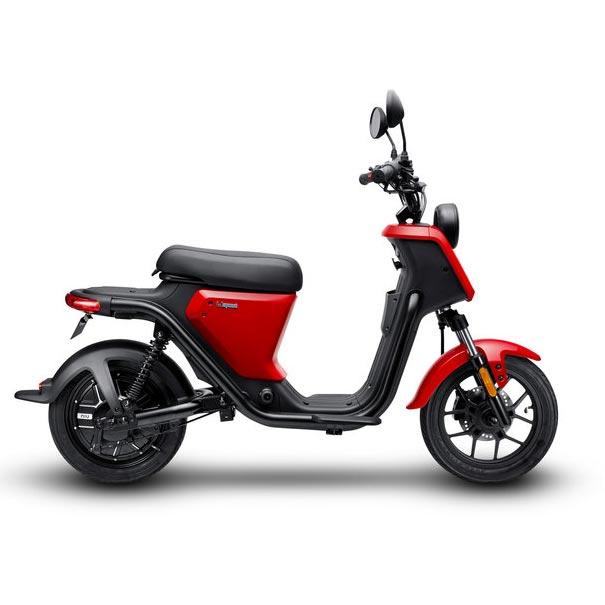Niu U Scooter Electrique pas cher rouge droite