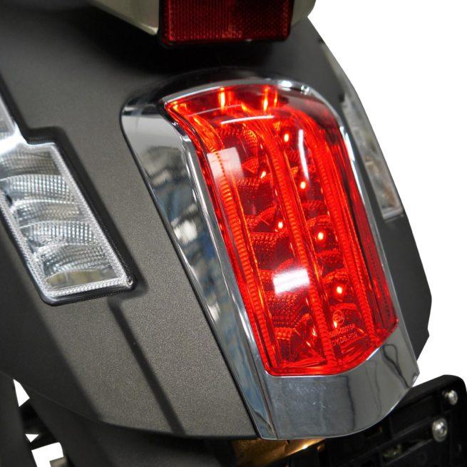 Scooter Electrique 125 Rider 5000W 125 gris mat arrière