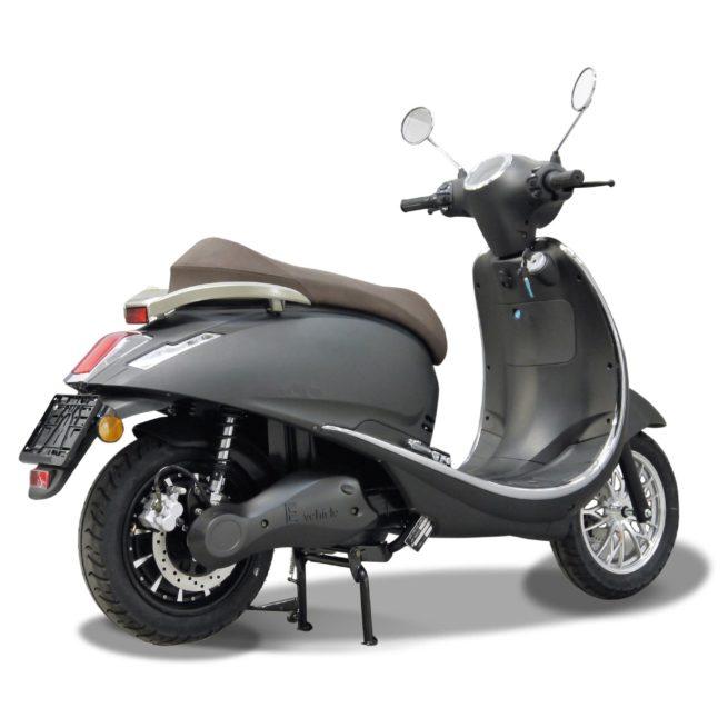 Scooter Electrique 125 Rider 5000W gris mat arrière droite