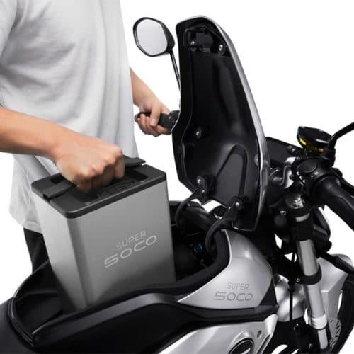 Batterie amovible moto électrique super soco