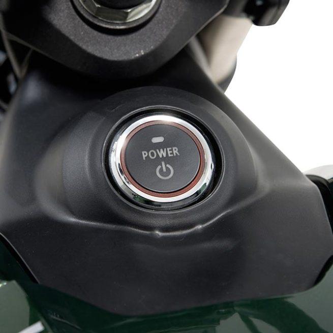 Super Soco TC allumage moto électrique zero motorcycles