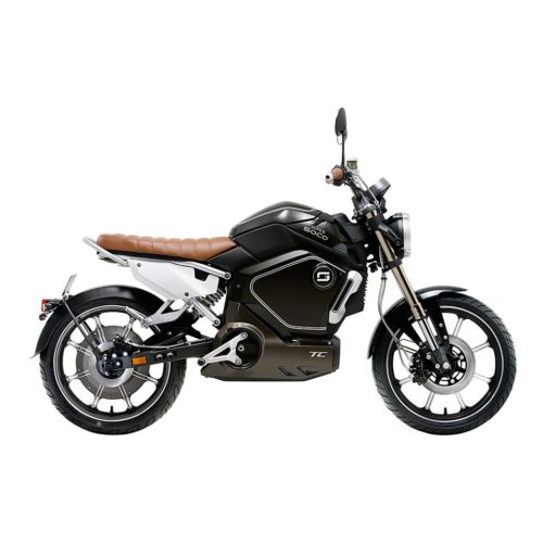 Super Soco TC Noir Moto électrique