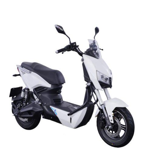 Scooter Electrique Yadea Z3 blanc avant droite