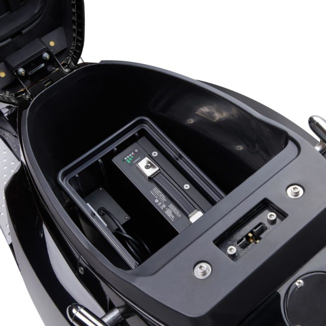 Scooter électrique pas cher KSR MOTO Vionis batterie amovible