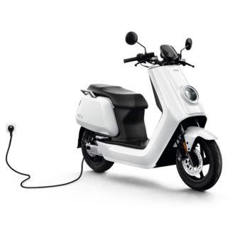 NIU N1S Blanc Scooter électriques avec ou sans permis rechargeable batterie prime écologique autonomie Scooters électriques