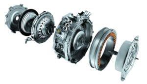 pièces de transmission d'un moteur électrique