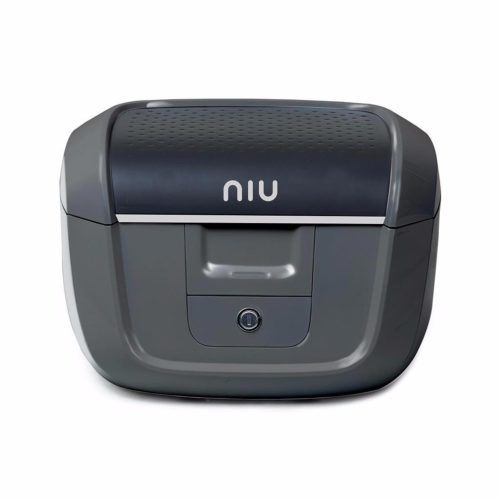 Accessoire pour scooter électrique Niu M1 Pro top case avec fixations gris
