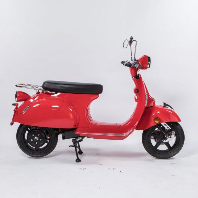 Scooter électrique Pinkmobility PinkStyle Rouge droite