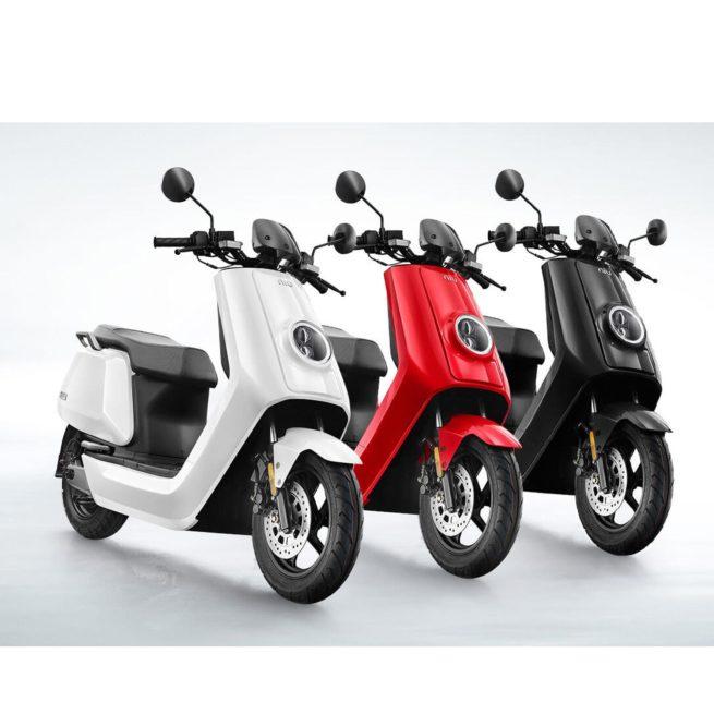 scooter électrique Niu N1S Civic gamme de 3 couleurs