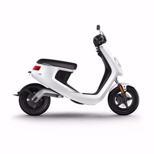 Scooter électrique NIU M1 PRO Blanc Profil