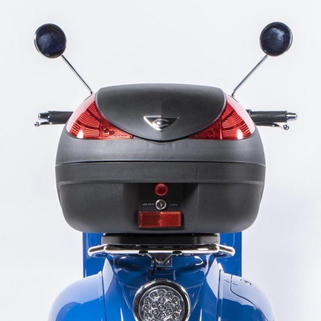 Top case et fixations pour scooter électrique Pink Style