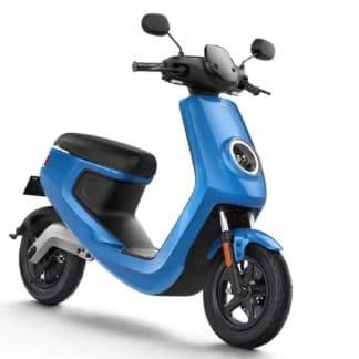 Scooter Electrique NIU M1 PRO Bleu Avant Droite