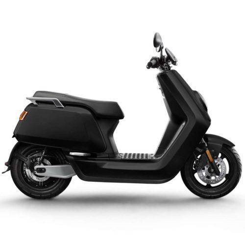 Scooter Electrique NIU N1S Noir Mat profil