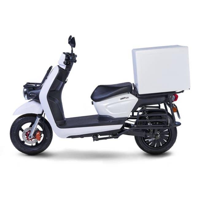 scooter électrique dépanneur dépannage coursier panier livraison Pink Mobility Pink UP