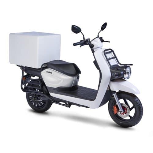 scooter électrique de livraison Pink Mobility Pink UP confortable inusable
