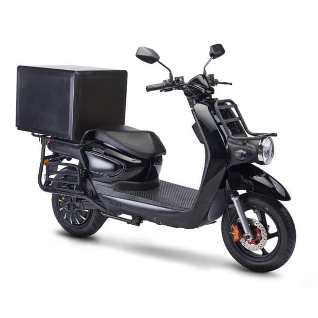 scooter électrique de livraison Pink Mobility Pink UP pratique en ville