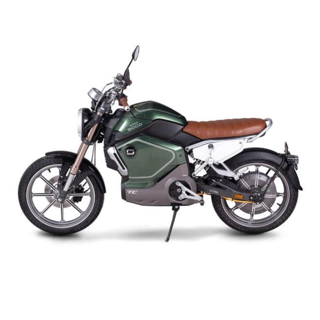 super soco tc moto electrique vintage scrambler