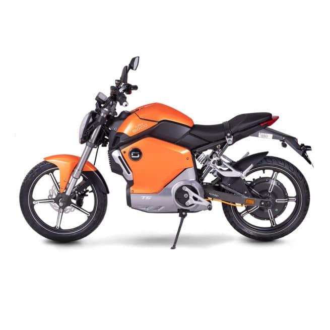 super soco ts moto electrique roadster écologique