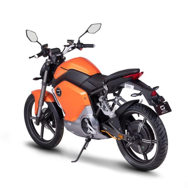 super soco ts moto electrique roadster 50cc 50cm3 14 ans BSR permis AM