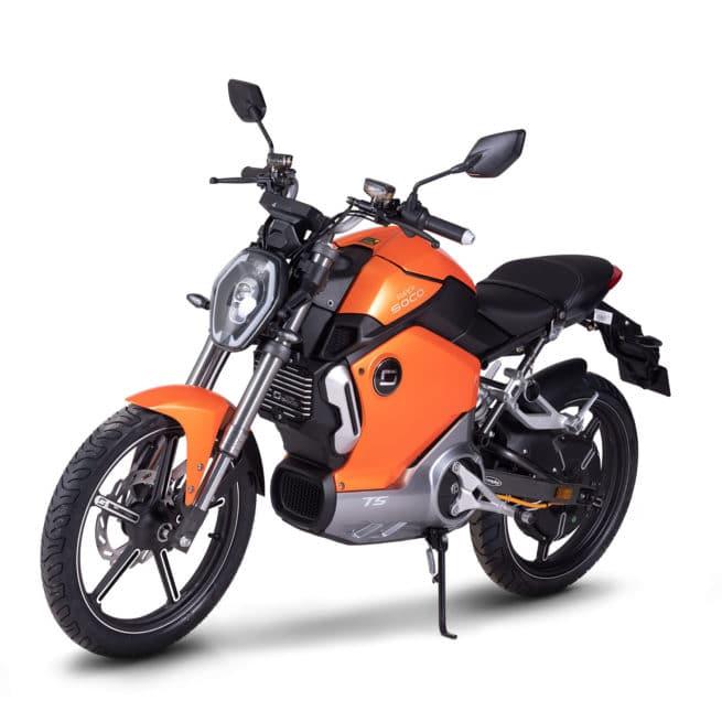 super soco ts moto electrique roadster collège lycée