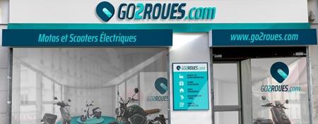 Showroom go2roues Paris