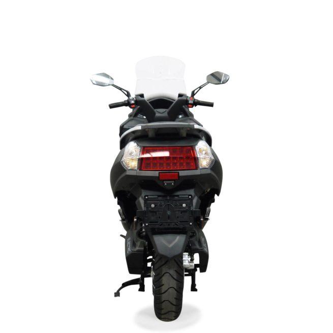 Scooter Electrique 125 Rider 9000W Gris Mat Arrière