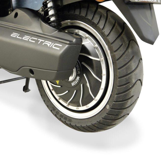 Scooter Electrique 125 Rider 9000W Gris Mat Moteur 2