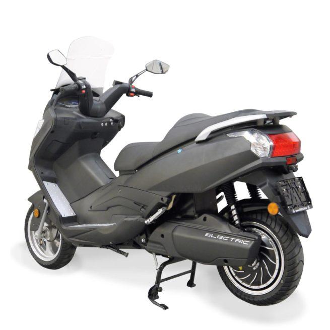 Scooter Electrique 125 Rider 9000W Gris Mat arrière droite