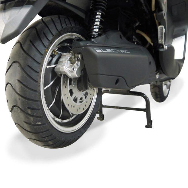 Scooter Electrique 125 Rider 9000W Gris Mat moteur et frein