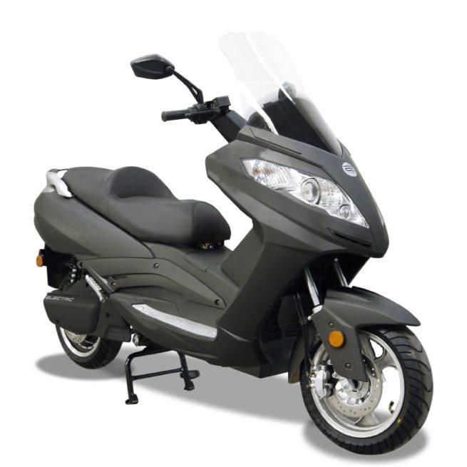 Scooter Electrique Rider 9000W gris mat avant droite