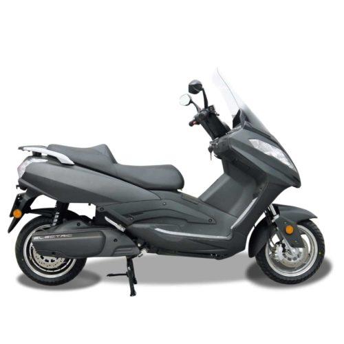 Scooter électrique 125 Rider 9000W gris mat droite