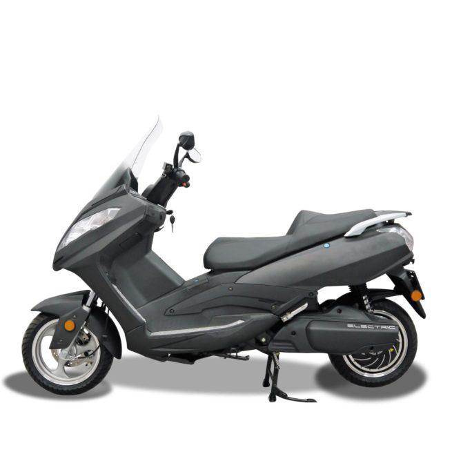 Scooter Electrique 125 Rider 9000W Gris Mat Gauche