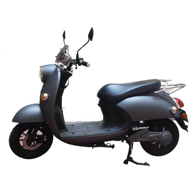Scooter Electrique Rider 1500W Frison gris mat gauche