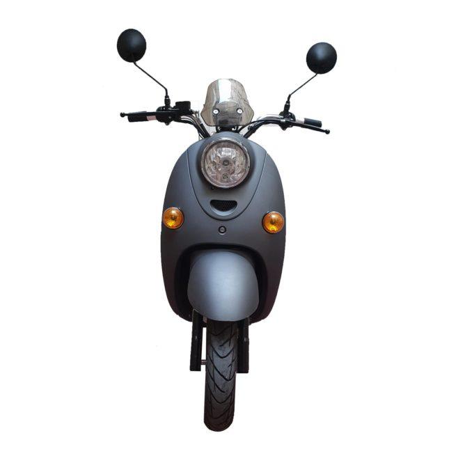 Scooter électrique Rider 1500W Frison gris mat face avant