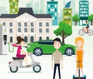 affiche de la journée des mobilités