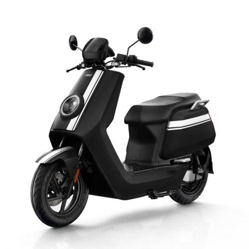 Scooter Electrique 125 Niu NGT Noir Blanc