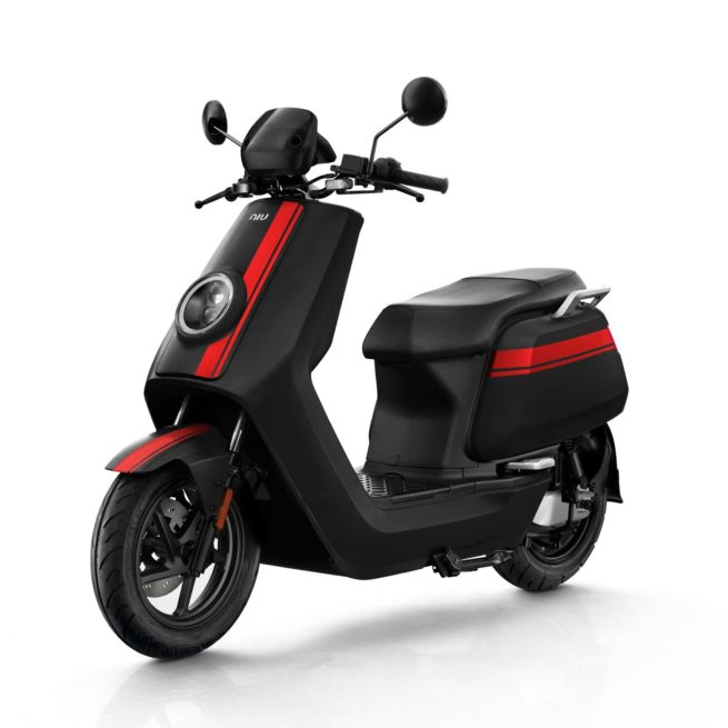Scooter Electrique 125 NIU NGT Noir Rouge