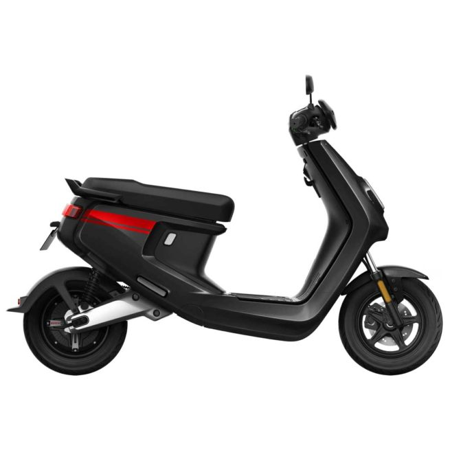 Scooter Electrique NIU M+ noir droite