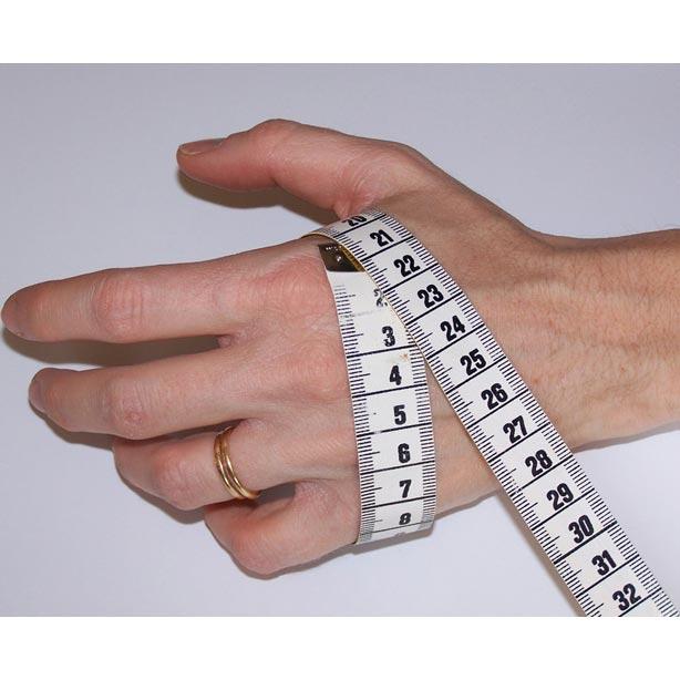 Mesurer la taille des gants