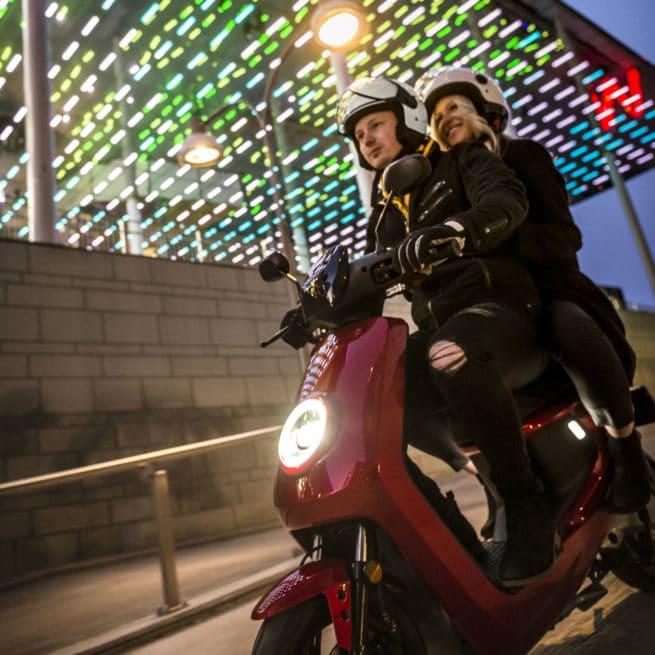 scooter électrique biplace