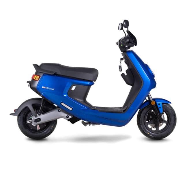 Niu MQI+ Mqi plus sport pro scooter electrique 50cc 50cm3 14 ans BSR permis AM