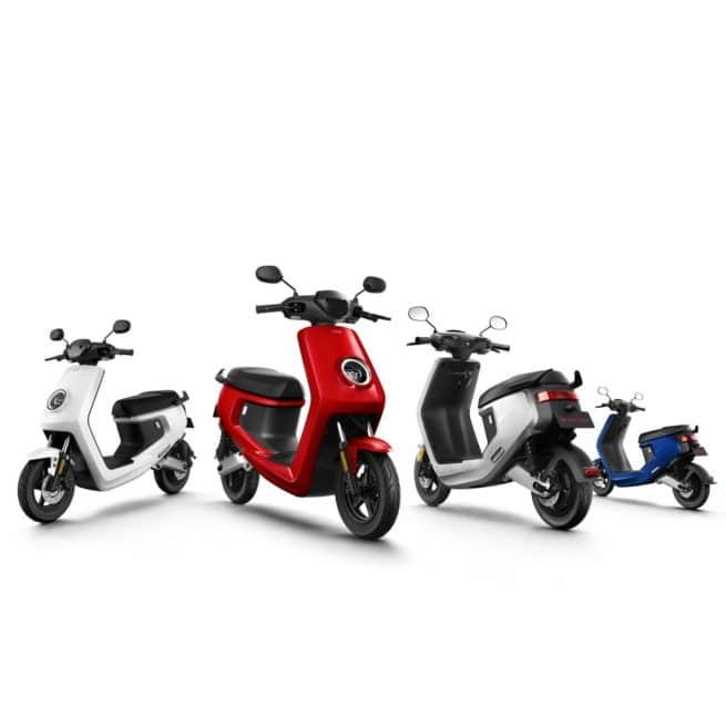 Scooter électrique NIU M+ Couleur gamme