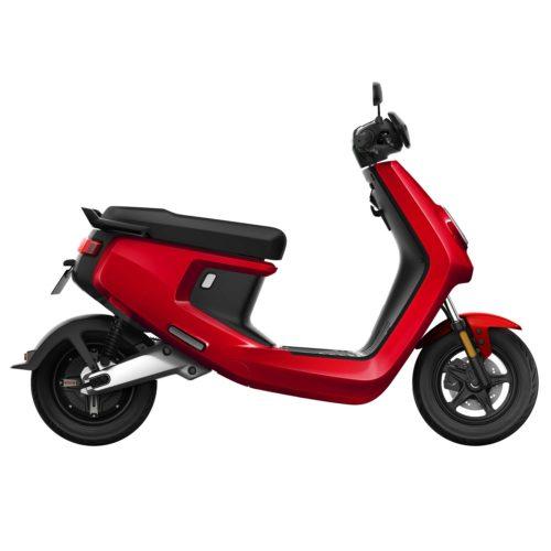 Scooter Electrique NIU M+ rouge droite
