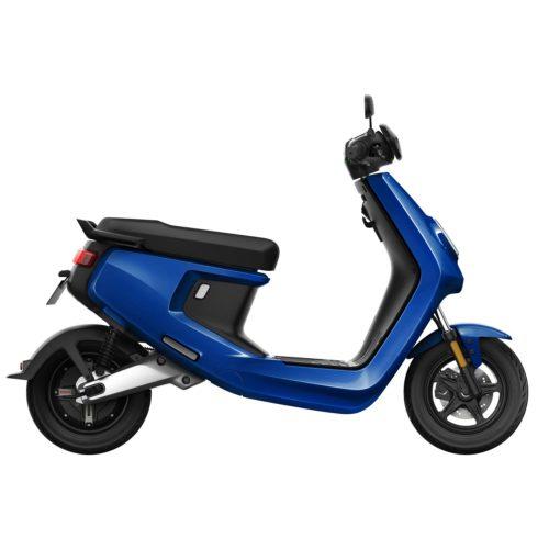 Scooter Electrique NIU M+ bleu droite