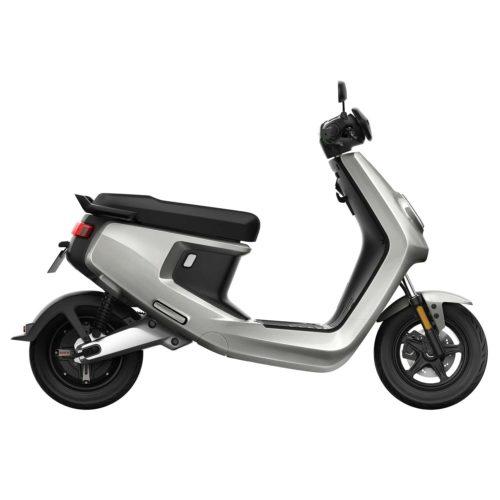 Scooter Electrique NIU M+ gris droite