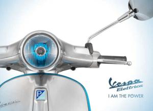 Scooter électrique Vespa- modèle 2018