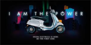 Vespa- scooter électrique