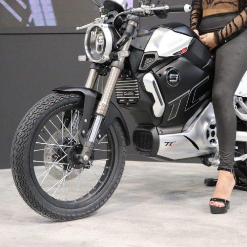 Moto electrique Super Soco TC MAX Roues à rayons