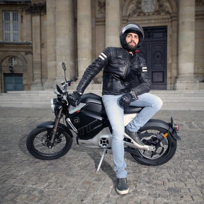 super soco tc max paris ville nantes bordeaux lyon marseille lille moto électrique vintage classic