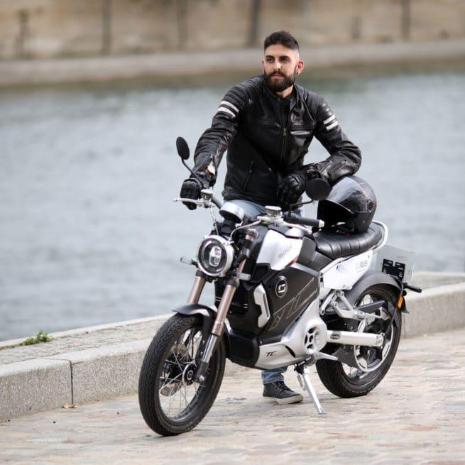 super soco tc max paris ville nantes bordeaux lyon marseille lille moto électrique vintage classic motard